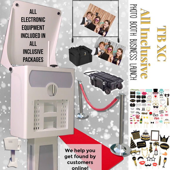 TB XC All Inclusive Photo Booth Business System