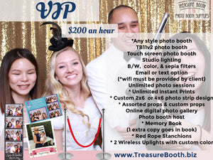 VIP Photo Booth Rental Service