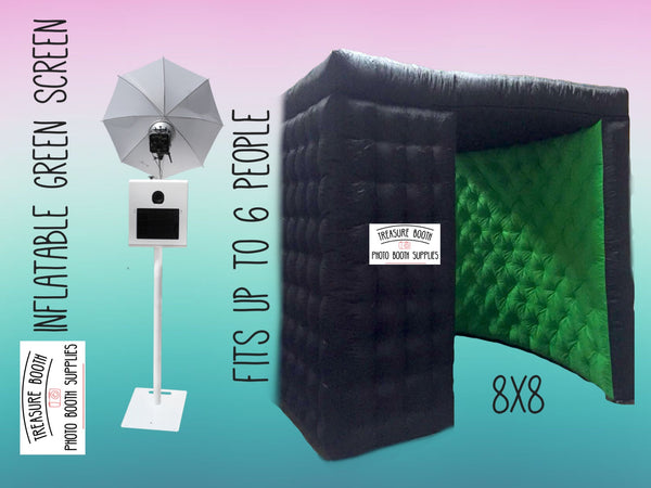 Green Screen Photo Booth Rental Service