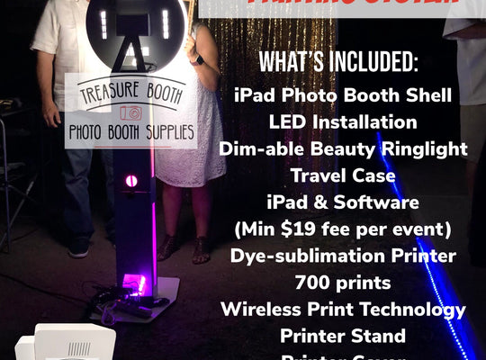 iPad Glow Photo Booth Business Equipment System