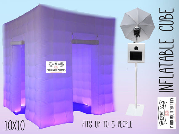 Inflatable Cube Photo Booth (Hourly)