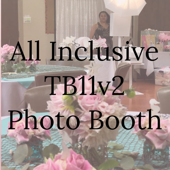 All Inclusive Photo Booth Business Package for TB11v2