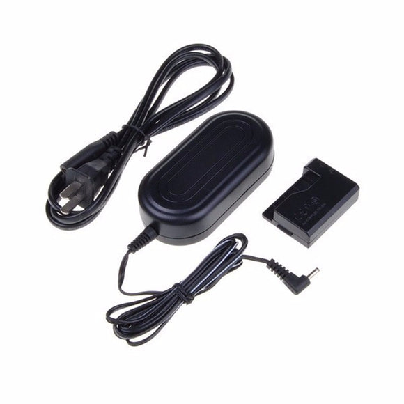 Power Adapter for Canon DSLR Cameras T3, T5, & T6