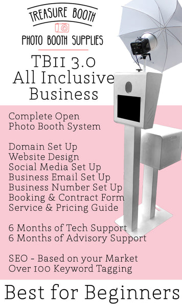 TB11 3.0 All Inclusive Photo Booth Business