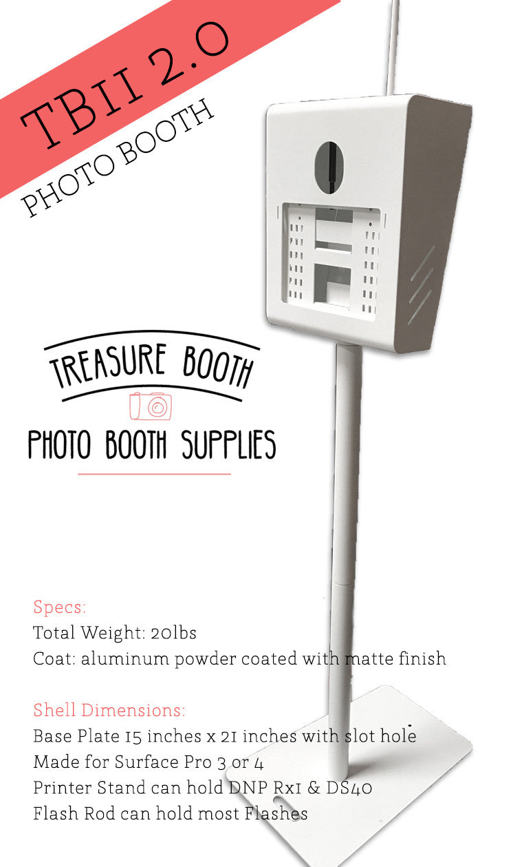 TB11 2.0 Photo Booth Shell