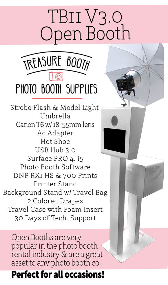 TB11V3 - Open Photo Booth Business Package