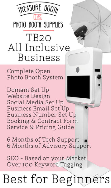 TB20 All Inclusive Photo Booth Business