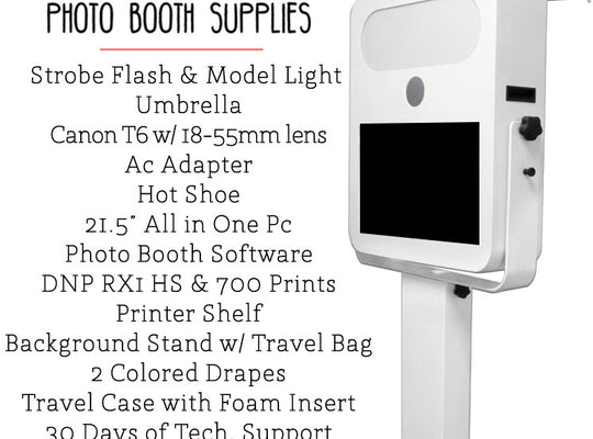 TB20 Photo Booth Business Equipment System