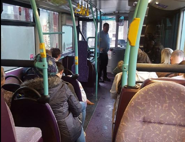 Bus Driver's Wonderful Act Of Kindness For Stranded Schoolgirl Goes Viral