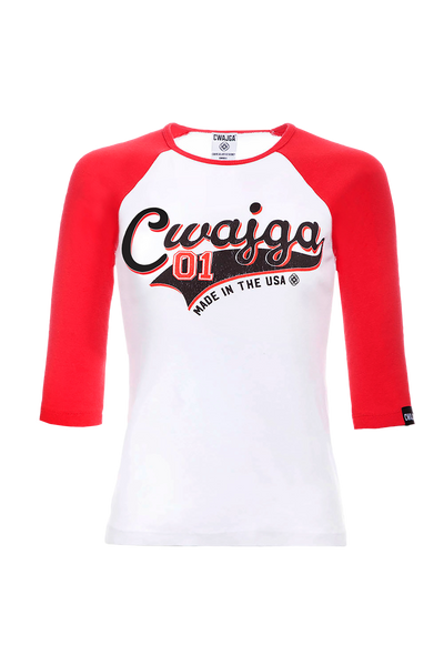 Play Ball - Ladies Raglan Tee