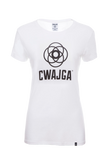 Mantra - Ladies cotton T shirt  (White)