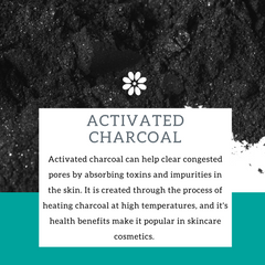 Activated Charcoal in Skincare