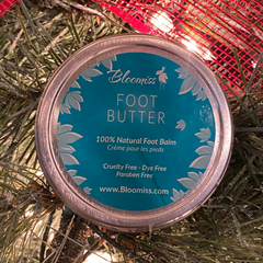 Foot butter for dry cracked feet