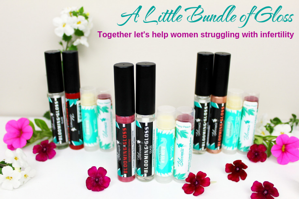 100% Natural Lip Gloss in support of Fertility