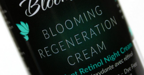 Bloomiss Skincare night cream with retinol