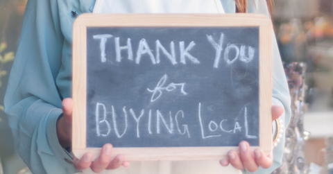 Thank you for buying local Canada