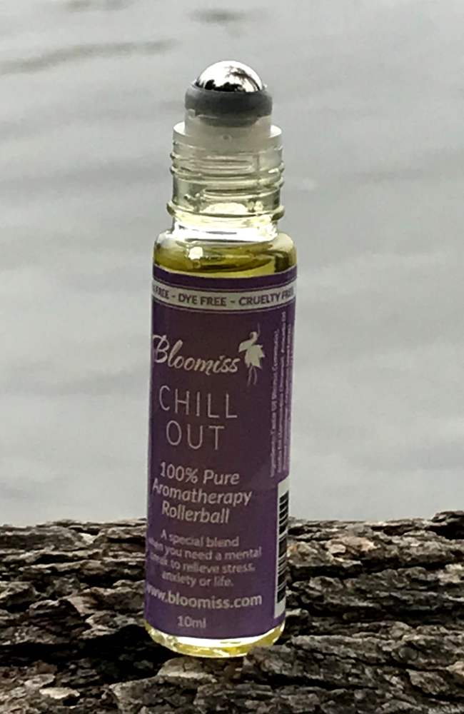 Chill Out Aromatherapy, Aromatherapy Rollerball for sleep and relaxation