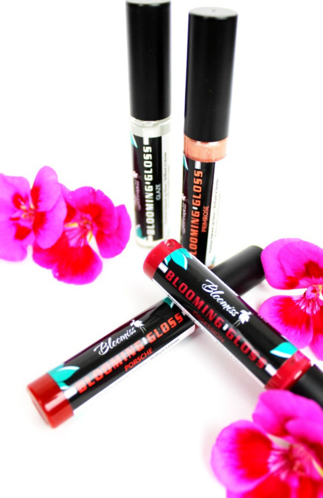 All Natural Lip Gloss in beautiful shades making your lips silky smooth
