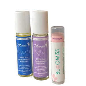 zen bundle - aromatherapy and lip balm