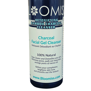 face cleanser for clear glowing skin. charcoal cleanser