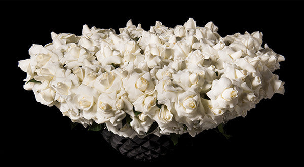 Signature White Reflexed Roses