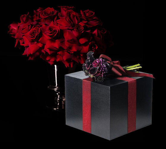 Arrangement and Gift Box