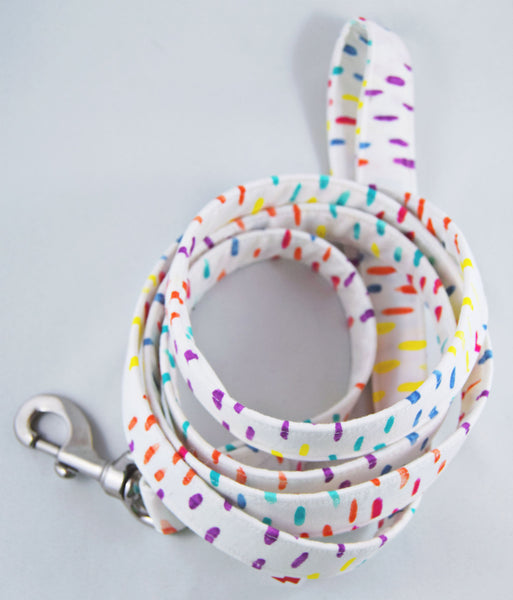 Colour Splash Cotton Dog Leash