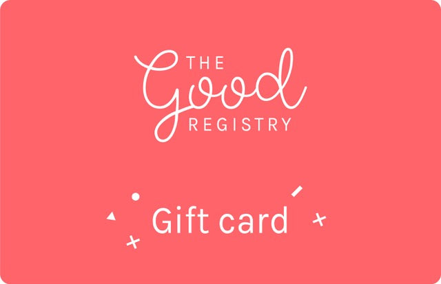 The Good Registry Voucher.