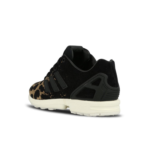 timeless design 780c4 a2dd9 ... uk adidas originals womens zx flux leopard print trainers a94bd c08de