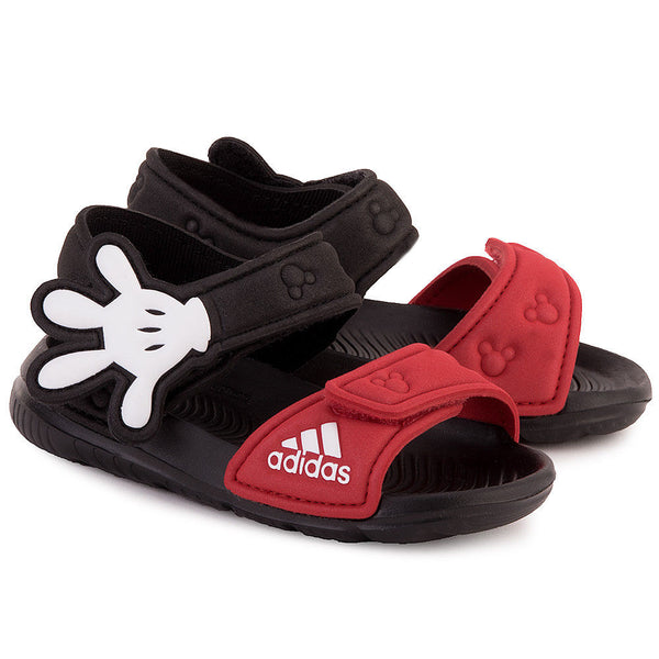 reputable site 79afe 30dde adidas Infants Boys Disney Mickey Mouse Sandals