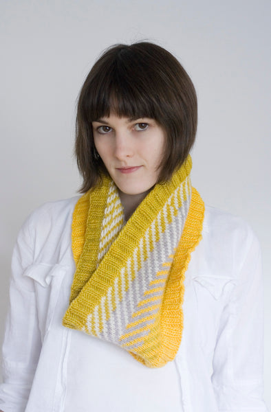 Chevzam Cowl Knitting Pattern