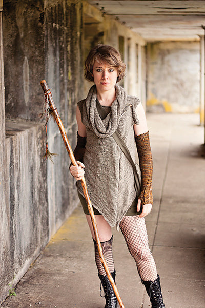 Forager Vest and Cowl Knitting Pattern