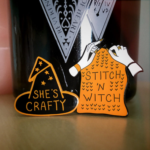 Limited Halloween Edition: She's Crafty and Stitch & Witch