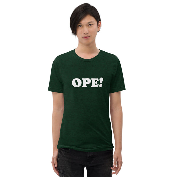 Ope! Unisex Triblend Tee
