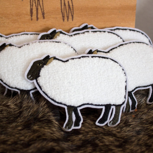 Sheepish Chenille Patch