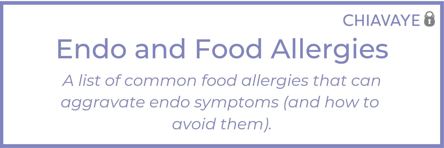 food allergies with endometriosis