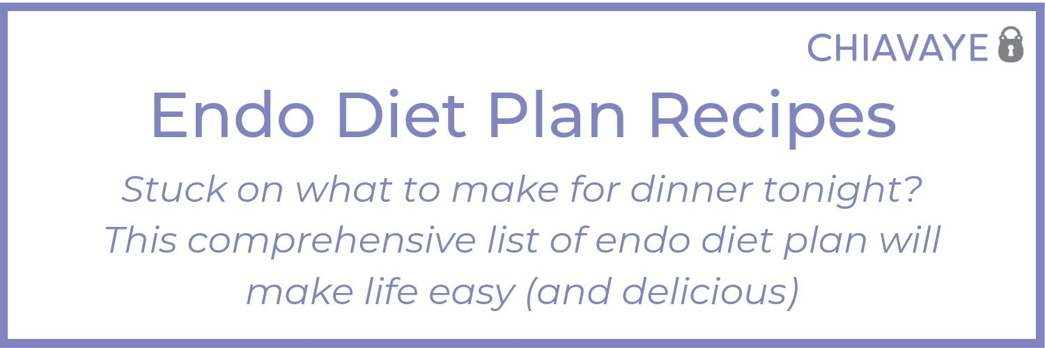 best endometriosis diet plan recipes