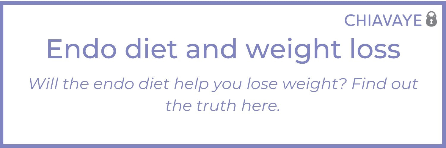 weight loss and endo diet