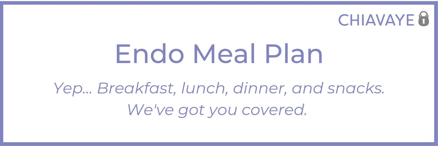 endometriosis meal plan guide