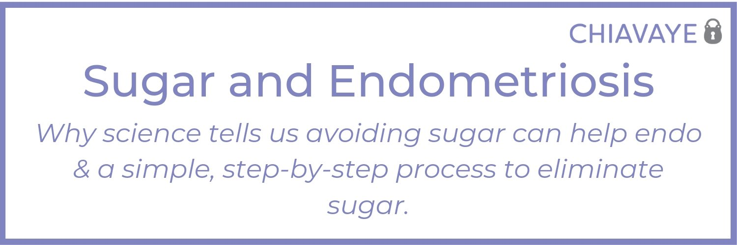 processed sugar and endometriosis