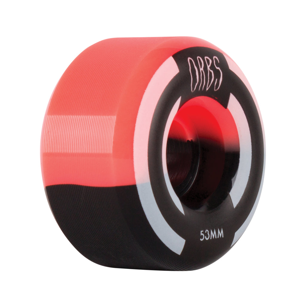 Orbs Apparitions - 53mm - Neon Coral/Black