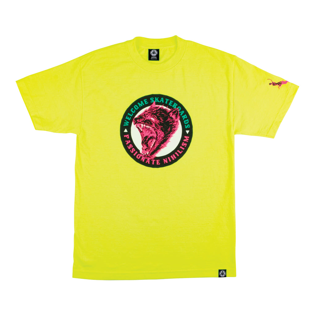 Passionate Tee - Safety Green
