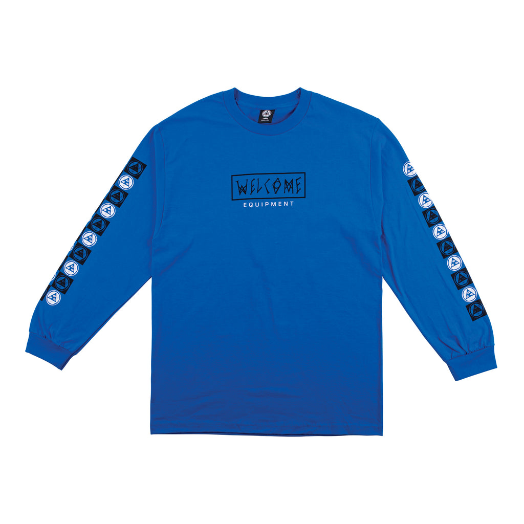 Eracer Long Sleeve Tee - Royal/Black