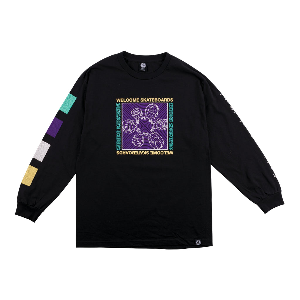 Seance Long Sleeve Tee - Black