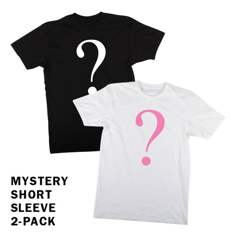 Mystery 2-Pack - Short Sleeves