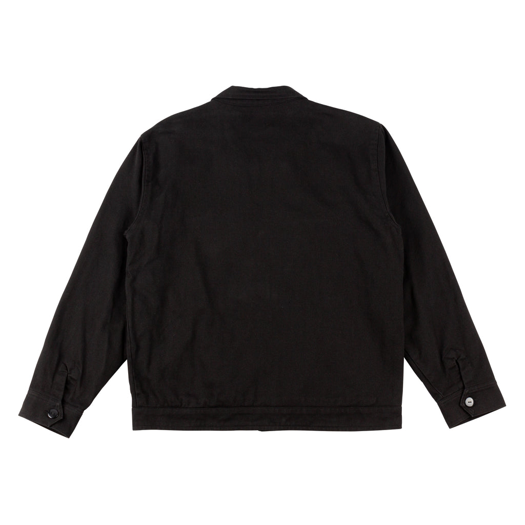 Terminus Canvas Zip Jacket - Black
