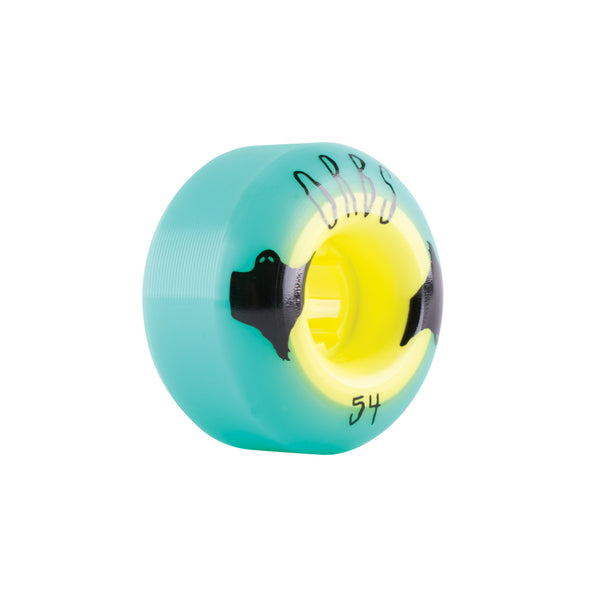 Orbs Poltergeists - 54mm - Teal/Yellow