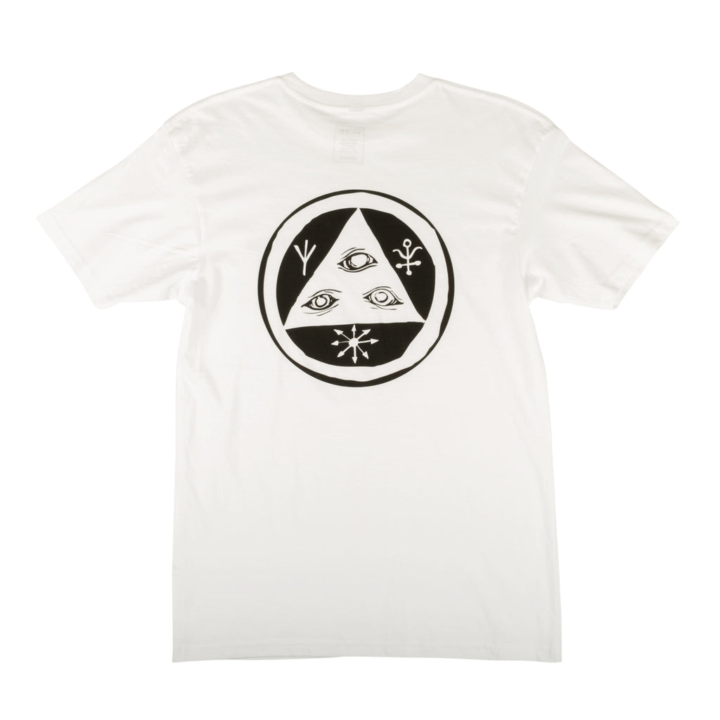 Talisman Tee - White/Black