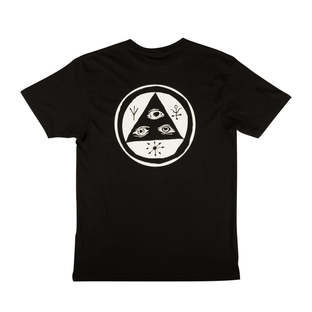 Talisman Tee - Black/White