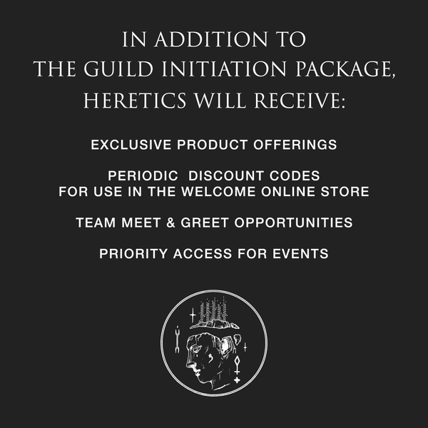 Guild of Heretics Initiation Package